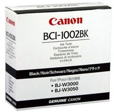 Cartucho Canon BCI-1002 BK - 5843A001 - ORIGINAL BJ-W30000 BJ-W3050