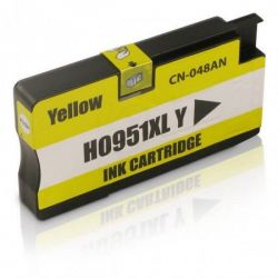 Cartucho de Tinta Compatível com  951XL CN048A Amarelo | 20ml - 8100  8600W  251DW