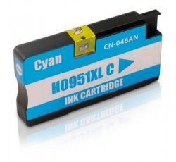 Cartucho de Tinta Compatível com HP 951XL CN046A Ciano | 20ml - 8100  8600W  251DW