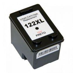 Cartucho Tinta Compatível com HP122XL  122 Preto CH563HB 12ML