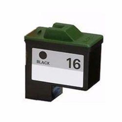 Cartucho de Tinta Compatível Lex 16 10N0016 preto | Z645 Z647 X1270