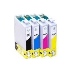 Kit c/ 4 Cartuchos Epson Compatível  TO631 +  C67 |C87 |CX3700 |CX4100 |CX4700 |CX7700