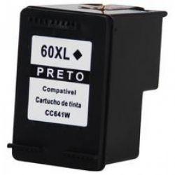 Cartucho de Tinta HP Compatível 60XL Preto CC641WB - D1660 D2530 D2545 D2560 D2660 F4280 F4480 F4580 C4680 C4780 D110 D410
