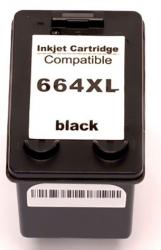 Cartucho Compatível para HP 664XL  664XL Novo (Preto) - 14ml - 1115 2136 3636 3836 4536 4676