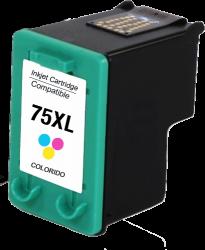 Cartucho de Tinta Compatível HP75xl Colorido - 14ml - CB338wb