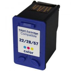 Cartucho de Tinta HP Compatível 22XL 3653 3910 3915 3930 3940 D1330 D1341 D1360 D1460 D2320 D2330 D2345 D2360 D2460 (Colorido) - 21ml