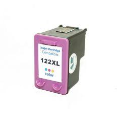 Cartucho Compativel HP 122XL100% novo 1000  2000  2050  3050 (Colorido) - 13ml
