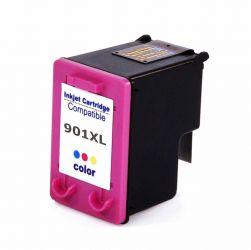 Cartucho de Tinta HP Compatível 901XL J4540 J4550 J4580 J4660 J4680 J4500 (Colorido) - 14ml