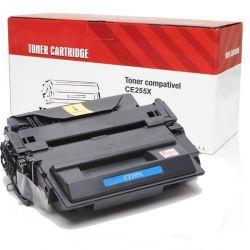 Toner Compatível HP CE255X CE255XB | P3015 P3015N P3015D P3015DN P3015X M525F - 10k