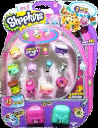 Shopkins Blister Kit com 12 Sortidos - Dtc - Serie 5
