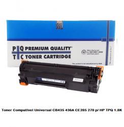 Compatível Toner Premium Quality Ce285a 85a p/ HP P1102 M1212 P1109 rend 2k