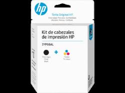 Cabeça de Impressão Tri-color/Black GT Original Kit 3YP86AL HP